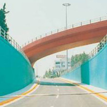 Multi – Level Highway Interchange of Aharnon