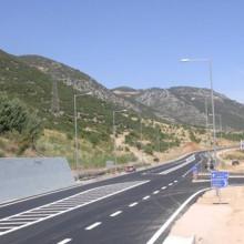 Κατασκεύη της παράκαμψης Γραβίας της Εθνικής οδού Λαμίας – Ναυπάκτου