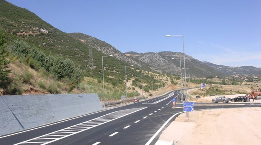 Construction of Gravia by-pass road and bridge