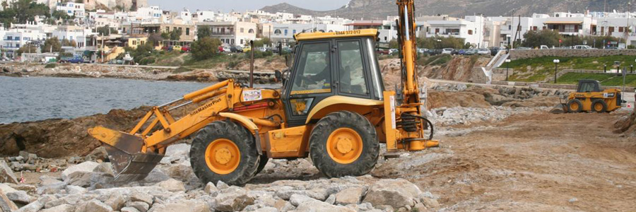 Completion of restoration of damages in the port of Naxos Island