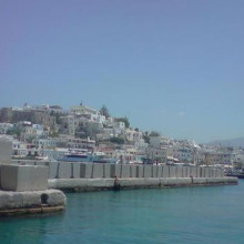 Restoration of damages after the great storm of 22.01.2004 in the port of Naxos Island