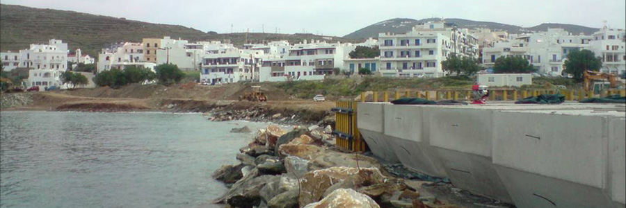 Improvement Works At Tinos Port – Phase B