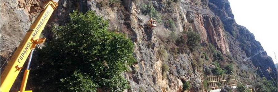 Road Topolia – Kastomatado Protection In Chania County