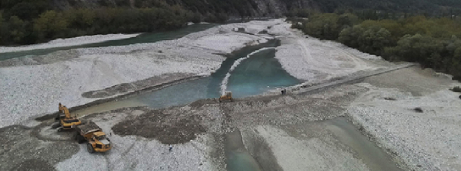 Arachthos river's streams arrangements, Epirus West Greece (2018 – 2019)