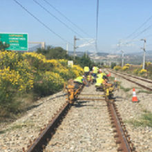 Railway works for OSE SA from Kiato to Athens Airport, Greece (2018-2019)