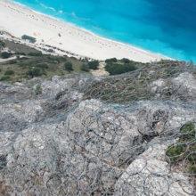 """Αντιμετώπιση βλαβών στο οδικό δίκτυο νήσου Κεφαλληνίας με αποκατάσταση καταπτώσεων κατά θέσεις (β"""" φάση)"""