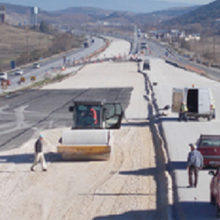 National Highway works in Velestino, Volos , Greece (2016 – 2018)